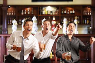 sports bar liquor license
